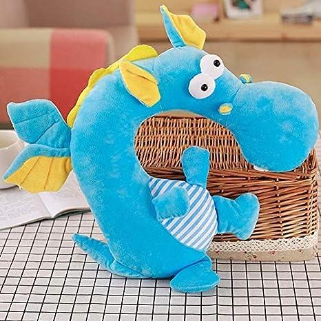 hokkk Creativo Dinosaurio Felpa niños Viaje reposacabezas ...