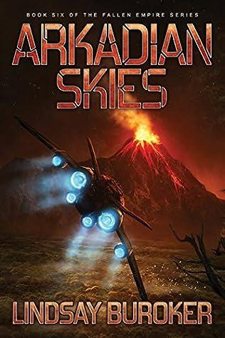 book cover of Arkadian Skies