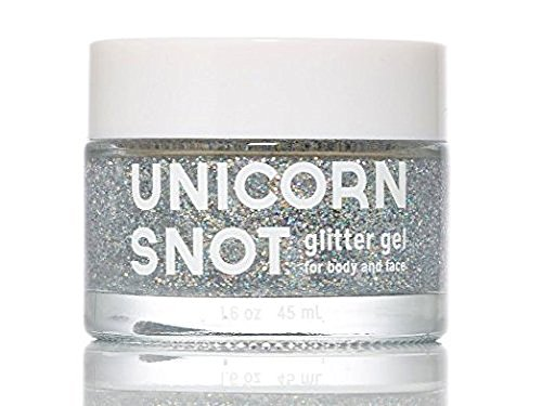 [Unicorn Snot Glitter Gel for Body and Face - Silver] (Urban Vampire Costume)