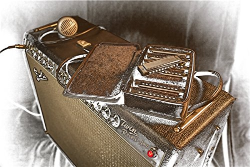 Large Product Image of Fender Blues Deluxe Harmonica, Key of C