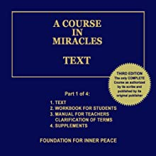 A Course in Miracles: Text, Vol. 1 Audiobook by Dr. Helen Schucman (scribe) Narrated by Jim Stewart