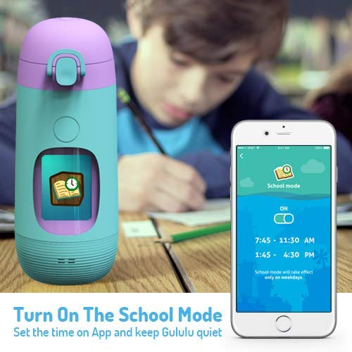Smart Water Bottle for Kids - GululuGo Interactive Water Bottle Includes Games and Stories Along with a Health Tracking Smartphone App, 350ml Smart Water Bottle for Kids by Gululu (Image #3)
