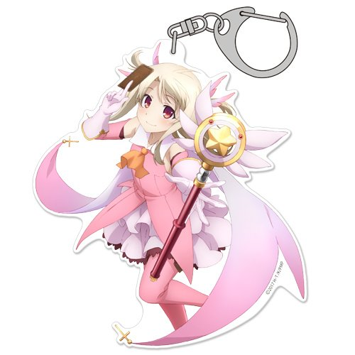 Mobile Charm Body Collection Phone - Fate/kaleid liner Prisma Illya Illyasviel von Einzbern Cospa Character Pinch Acrylic Key Chain Charm Mascot Collection Anime Girls
