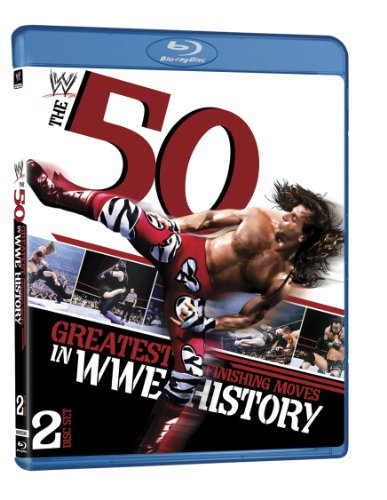 WWE: The 50 Greatest Finishing Moves in WWE History [Blu-ray]