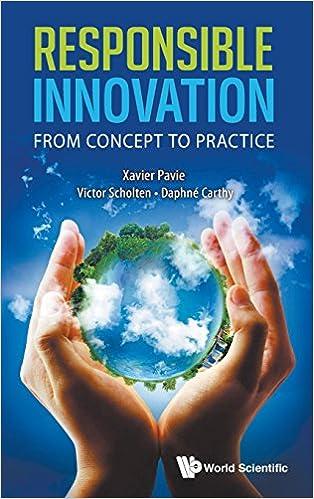 Rapidshare Kindle Book nedlastingerResponsible Innovation : From Concept to Practice by Xavier Pavie 9814525073 PDF MOBI