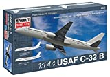 757 model airplane - Minicraft C-32B USAF Airplane Model Kit (1/144 Scale)