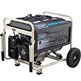 Pulsar PG6000 6000W Peak 5000W Rated Portable Gas-Powered Generator
