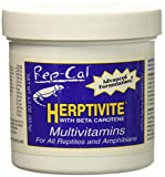 HERPTIVITE Multivitamin for reptiles and amphibians (3.3 oz) Blue Bottle, 1 Pack