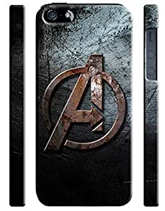 Avengers Age Of Ultron Logo Iphone 5 5s Hard Case Cover