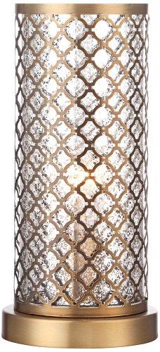 Uplight Table (Alcazar Brass and Mercury Glass 12