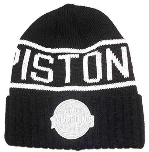 fc413183e2d Mitchell   Ness NBA Detroit Pistons Cuffed Beanie Knit Hat - Osfa - KT58Z