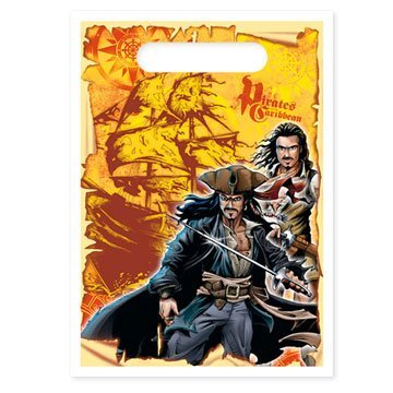 Pirates of the Caribbean Treat Bags - 8