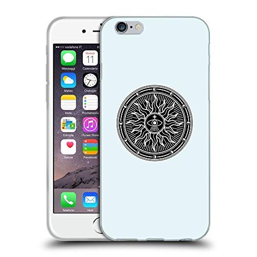 "GoGoMobile Coque de Protection TPU Silicone Case pour // Q08230619 Mystique occulte 2 Bulles // Apple iPhone 6 4.7"""