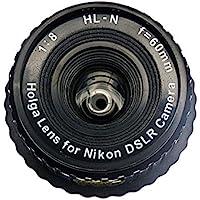 Holga Lens for Nikon D90 D80 D70s D70 D60 D50 D40X D40 Black