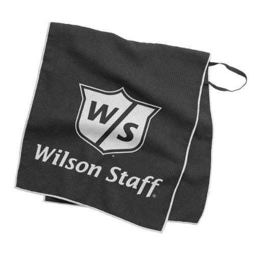 Wilson Golf Tour Towel Black 16x36