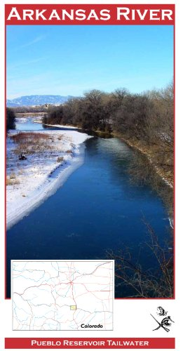 Arkansas River 11x17 Fly Fishing Map