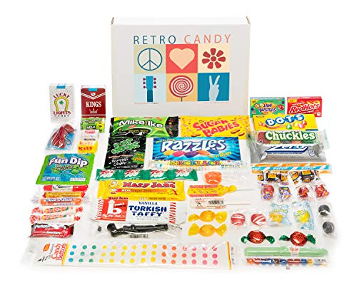 Woodstock Candy ~ Care Package Classic Nostalgic Retro Candy Assortment Gift Box for Men and Women (Retro Candy Box)