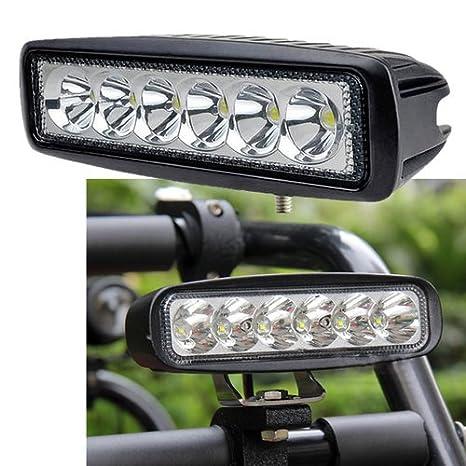 VINGO/®4x 18w lumi/ères de travail LED ATV SUV conduit des lumi/ères de travail des lampes de travail hors route 10-30V DC technologie multi-tension