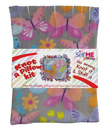 Butterfly Pillows decorative throw pillows, Make a No Sew Fleece Butterfly Pillow