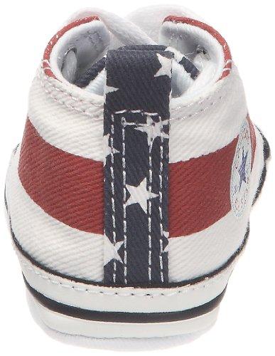 Converse Converse Sneakers 209640-10_Rouge/blanc/marine - Bolso de tela para bebé: Amazon.es: Bebé