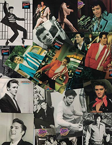 Elvis Presley / 100 Assorted Collectable Cards - All Different!!!