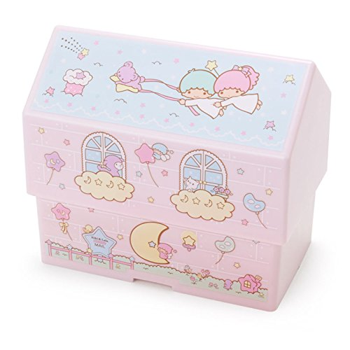 Sanrio Little Twin Stars Ouchi-shaped lunch box From Japan New
