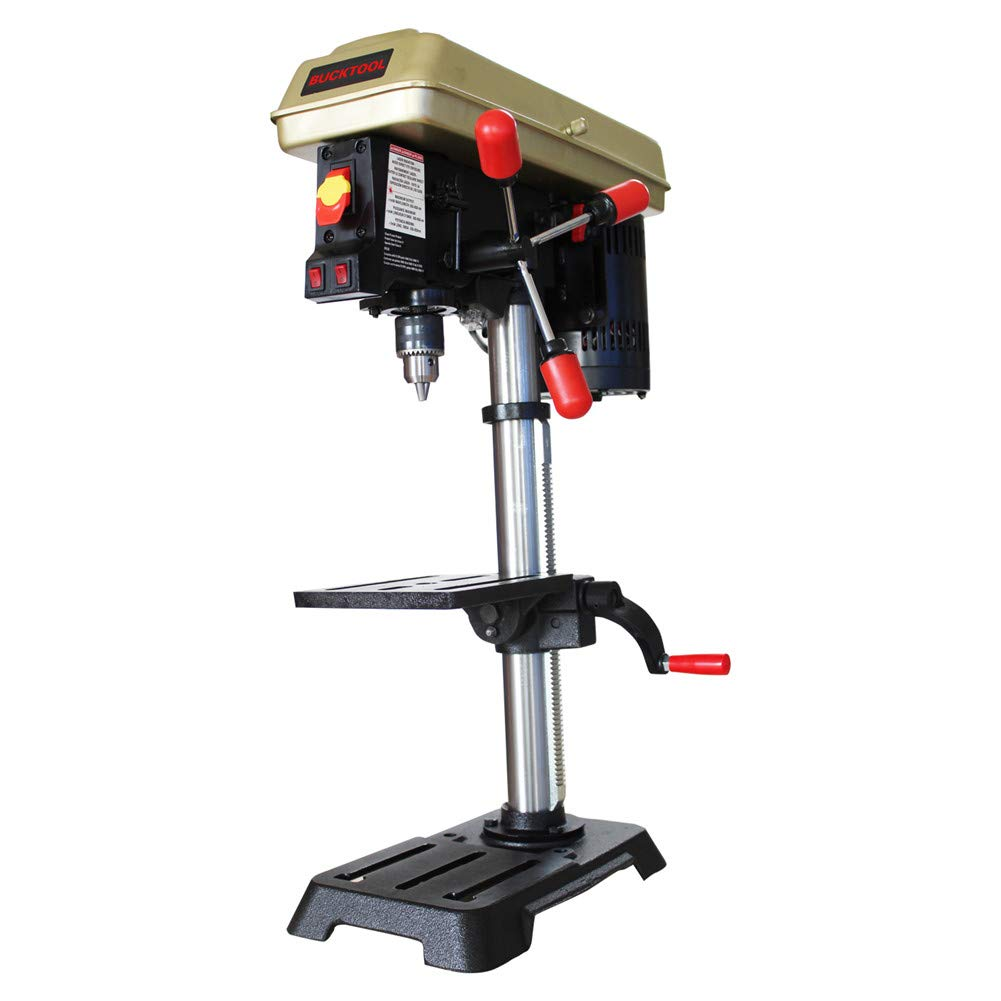 Bucktool 10 In. Drill Press With 1/2 In. Chuck & LED Light by Bucktool