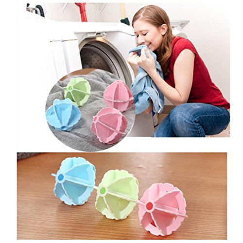 Price comparison product image Clean Laundry Ball Washing Helper Laundry Dryer Ball Fabric Softener Cloth Cleaning Ball Affordable