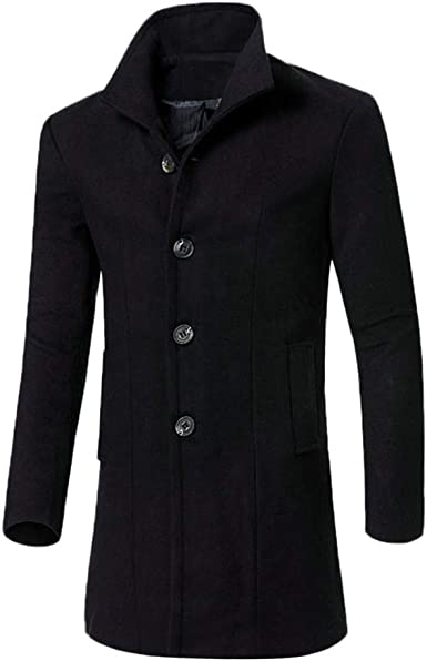 YYG Mens Thicken Winter Plus Size Loose Fit Hooded Down Quilted Coat Jacket Overcoat