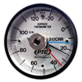 PTC312CRRMM Ultra Magnetic Rail Thermometer -20° to 120°C Max-Min Hands