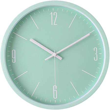 Image of FLL Reloj de Pared de precisión Reloj de Pared de Metal Reloj Creativo de Color 3D Reloj de Pared Digital Reloj Decorativo Digital para niños Decoración del hogar (Color: C5, Tam