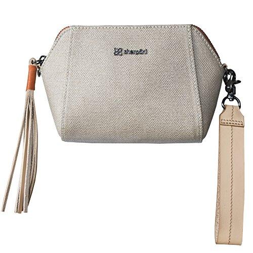 (Sherpani Vibe Crossbody Bag, Natural)