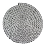 25 feet rope - SGT KNOTS Twisted Nylon Rope (1 inch) Multipurpose Utility Line - Rot, Alkali, Chemical, Weather Resistant - Crafts, DIY Projects, Towing, Dock Lines, Heavy Load Uses (25 ft - White)