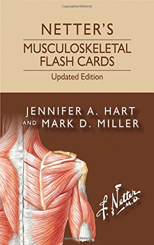 Netter s Musculoskeletal Flash Cards Updated Edition, 1e (Netter Basic Science)