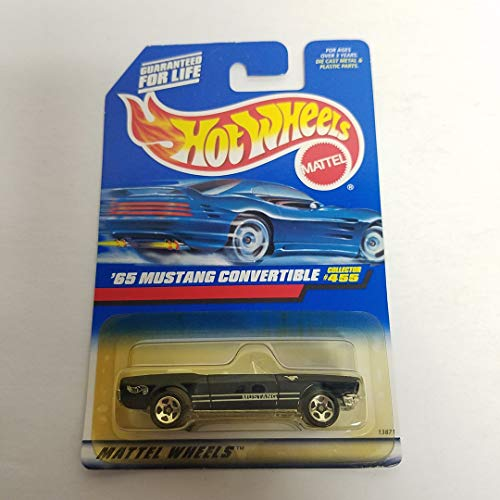 '65 Mustang Convertible 1998 Hot Wheels 1/64 diecast car No. 455 ()