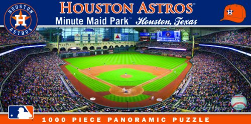 MasterPieces MLB Houston Astros Stadium Panoramic Jigsaw Puzzle, 1000-Piece