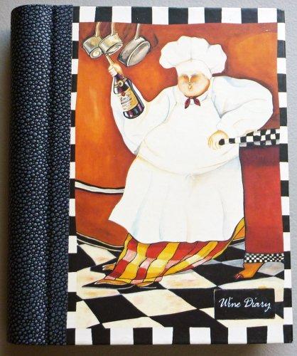 Wine Diary - Jennifer Garant - Art In Motion - Spiral -