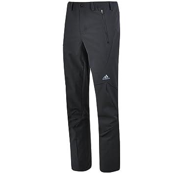 adidas Terrex Swift All Season Pant Outdoor Herren Hose (46S, schwarz)