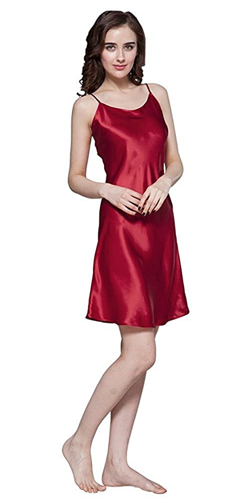 LilySilk Camicia Da Notte Di Donna Corta Di 22 Momme Pura Seta N2118