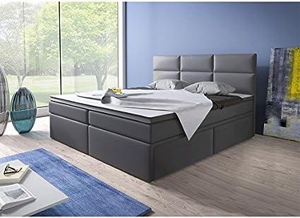 Home Collection24 GmbH Cama con somier (180 x 200 cm, con ...