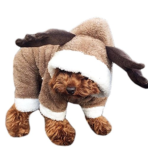 Alfie Pet by Petoga Couture - Ellery the Deer Costume - Size: XS