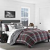 King Comforter Sets on Sale Eddie Bauer Whistler Ridge Comforter Set, King, Dark Grey