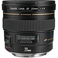 Canon EF 20mm f/2.8 USM Wide-Angle Fixed Lens (Certified Refurbished)