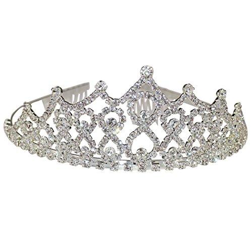 Dreams Come True Dance Costumes (Elegant Wedding Bridal Crown Headband Tiara Rhinestone Crystal Birthday Tiara.)
