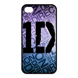 Danny Store 2015 New Arrival Protective Rubber Cover Case for iPhone 4,iPhone 4s Cases - One Direction