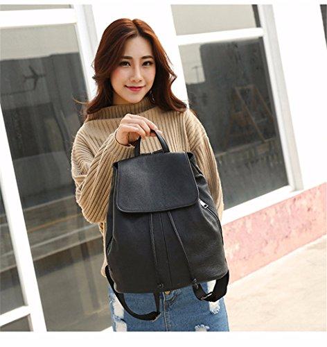 WanJiaMenShop Student Tasche Rucksack Fashion Trend Paket Frauen vertikale student Rucksäcke, 29 * 15 * 32 cm