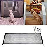 Magic Gate Portable Folding Baby and Pet Gate Safe Guard Install Anywhere Keep Distance for Your Pets or Baby from Kitchen Or Outdoor