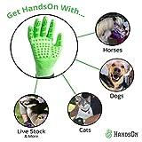 Handson Pet Grooming Gloves - #1 Ranked, Award