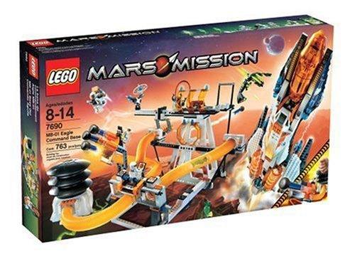 LEGO 7690 MARS MISSION EAGLE COMMAND BASE by LEGO