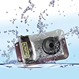DicaPac WP310 160x105mm Medium Alfa Waterproof Digital Camera Case with Optical Lens -Clear